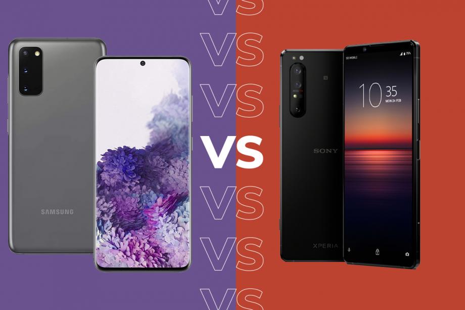 Sony Xperia 1 II vs Samsung Galaxy S20