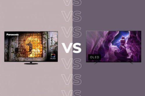 Panasonic HZ1000 vs Sony A8 OLED Comparison