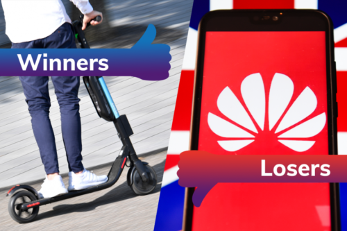 Winners and Losers: e-scooters race on while Huawei's 5G dreams go bust