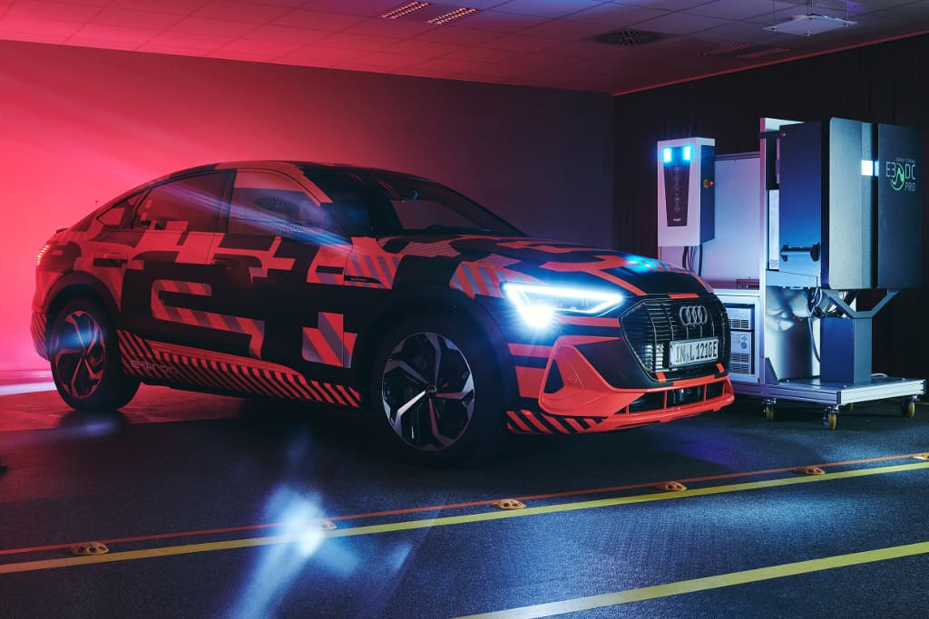 Audi invents vehicle-to-grid charging system for EVs