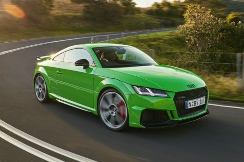 2020 Audi TT RS Coupe Review