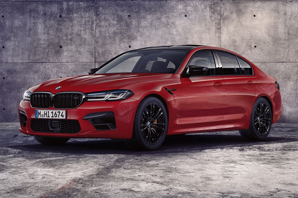 Upgraded BMW M5 Competition also pricier