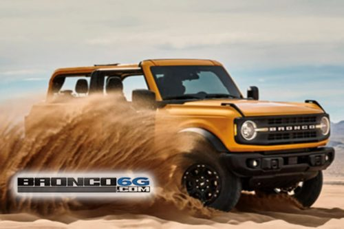 Ford Bronco 4×4 leaked