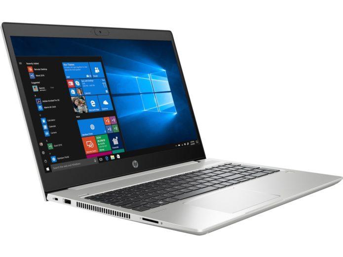 HP ProBook 445 G7: A darker display in exchange for better battery life