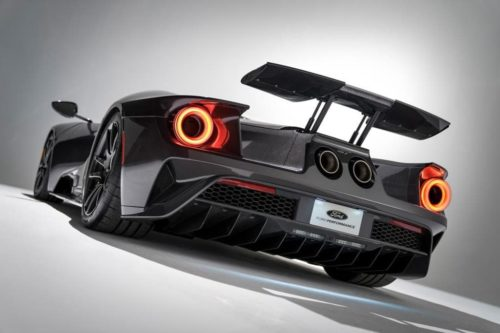 Ford GT updated with new colours and graphics