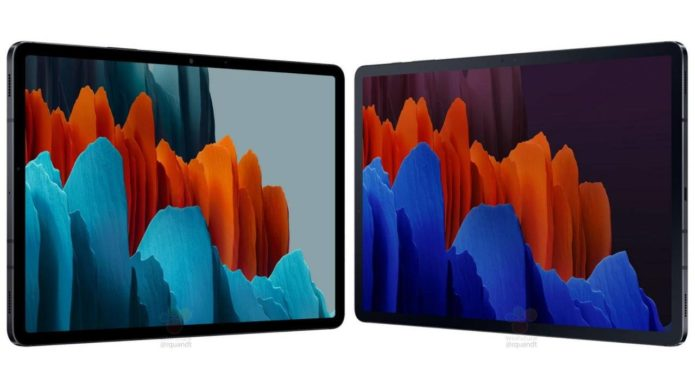 Galaxy Tab S7 and S7+ leak leaves nothing to the imagination