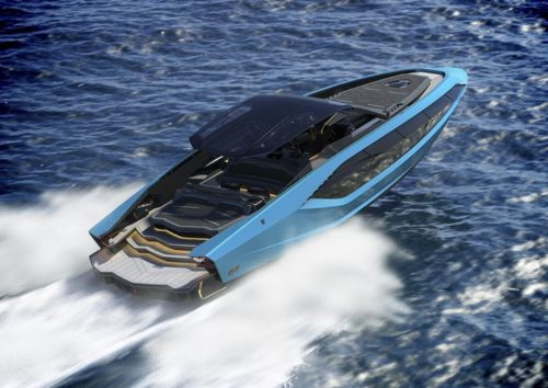 Lamborghini Is Building a 4000-HP Boat