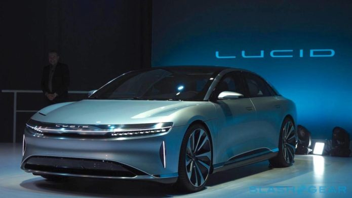 Lucid Motors reveals the DreamDrive tech to eventually make its EVs autonomous