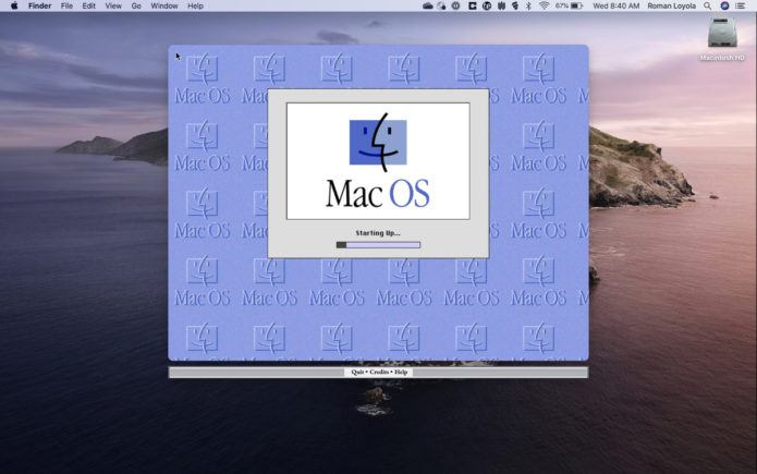 Want to run Mac OS 8 on your Mac? Now you can
