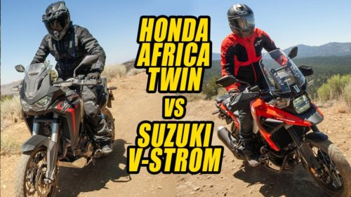 2020 Honda CRF1100L Africa Twin vs. Suzuki V-Strom 1050XT Comparison