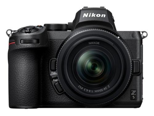 Nikon Z5, Z 24-50mm f/4-6.3 Lens, Z Teleconverter TC-1.4X & TC-2X Announced