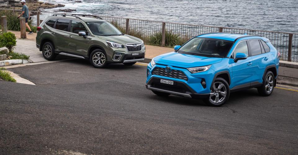 Hybrid SUV comparison review: Subaru Forester Hybrid v Toyota RAV4 Hybrid