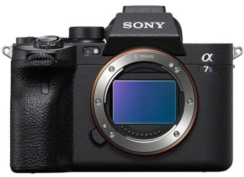 Product Images of the Sony a7S III camera
