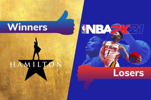 Winners and Losers: Hamilton soars onto Disney Plus while NBA 2K21 misses a slam dunk