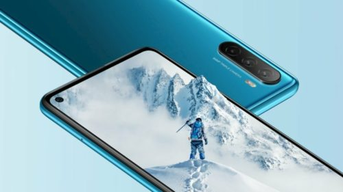 Huawei Maimang 9 Front official Revealed: With 6.8-inch Full HD Perforated Screen