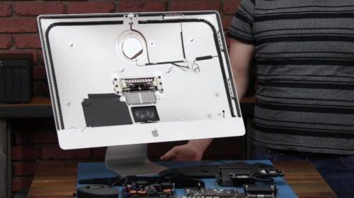 2020 27-inch iMac teardown reveals the empty space inside