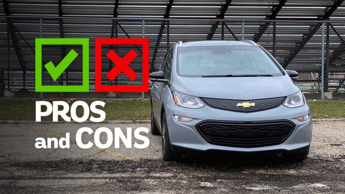 2020 Chevrolet Bolt EV: Pros And Cons