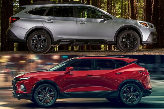 2020 Subaru Outback vs. 2020 Chevrolet Blazer: Which Is Better?