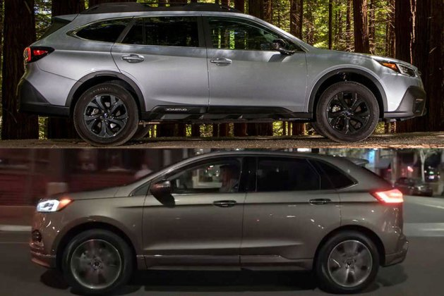 2020 Subaru Outback vs. 2020 Ford Edge: Which Is Better?