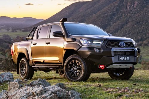 Fresh Toyota HiLux Rugged X and Rogue utes revealed