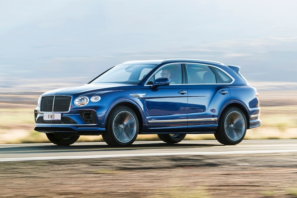 2021 Bentley Bentayga Speed Puts Sports Car Acceleration And Top Speed On A Luxury SUV