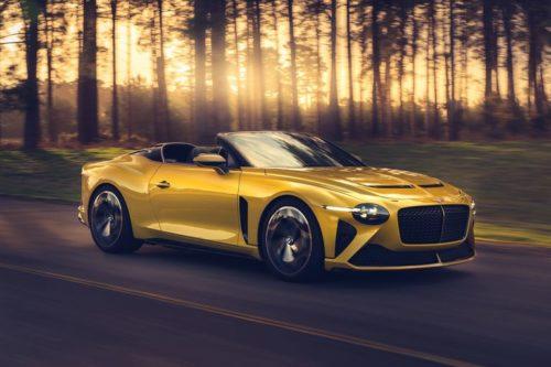 2021 Bentley Mulliner Bacalar Concept Brings Open-Top Exclusivity