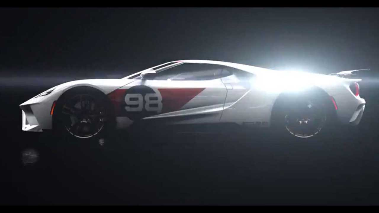 Ford Performance teases 2021 Ford GT Heritage Edition