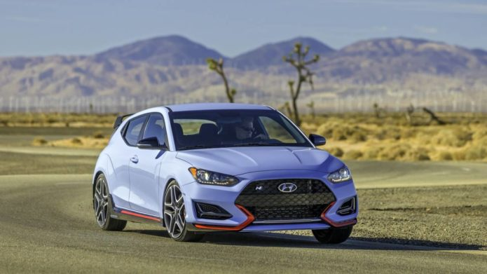 2021 Hyundai Veloster N gets an automatic – but no, it's not blasphemy