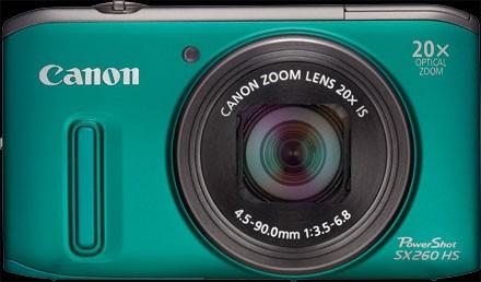 Canon PowerShot SX260 HS Camera