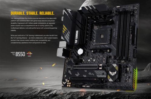 Asus TUF Gaming B550M-Plus Review