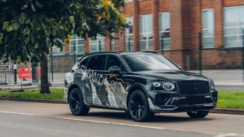 Bentley is already teasing another new Bentayga
