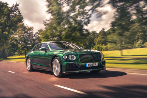 2021 Bentley Flying Spur with Styling Specification Package adds nifty carbon aero bits