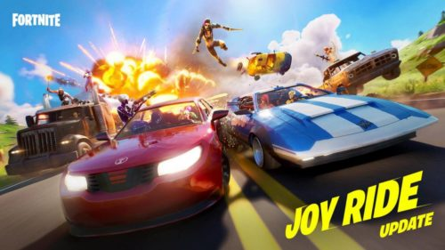 Fortnite v13.40 update adds four different cars to take on a joy ride