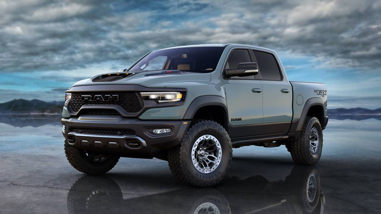 2021 Ram 1500 TRX is a 702hp pickup to give Raptor nightmares
