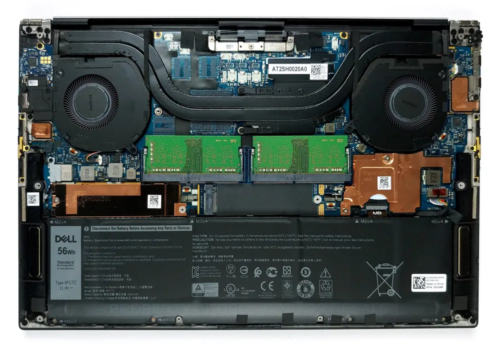 Inside Dell XPS 15 9500 – disassembly and upgrade options