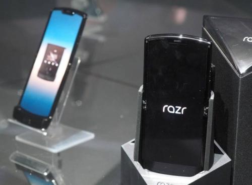 Motorola Razr 2 may impress little and fold up
