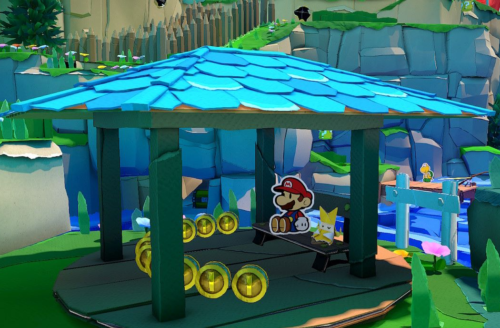 Paper Mario: The Origami King review: Puzzles, puns, papier-mache
