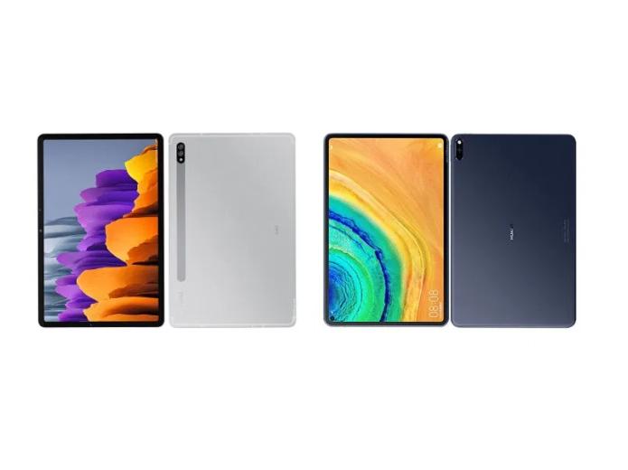 Samsung Galaxy Tab S7 vs Huawei MatePad Pro Specs Comparison