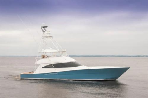 2017 Viking Yachts 72 Convertible