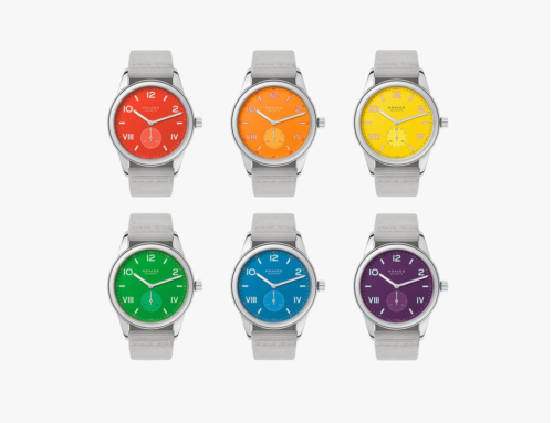 These Colorful German-Made Watches Support a Good Cause