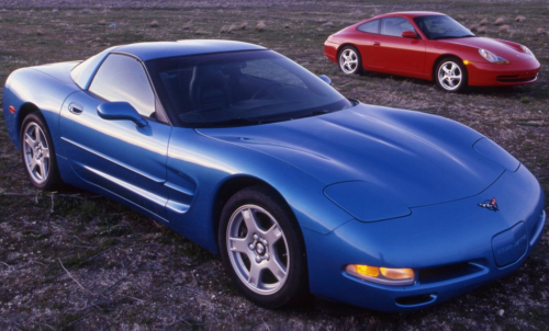 Tested: 1998 Porsche 911 Carrera vs. 1998 Chevrolet Corvette
