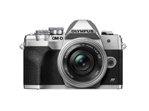 Olympus's new E-M10 IV has a selfie-friendly screen and 20MP sensor