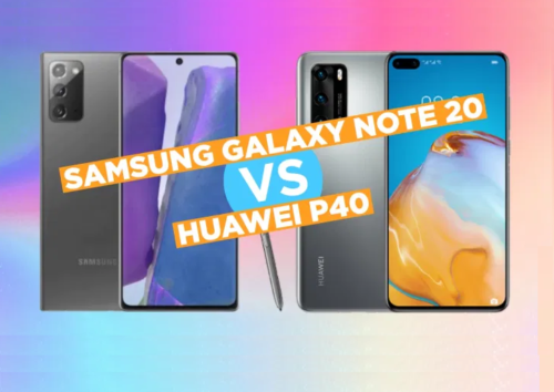 Samsung Galaxy Note 20 5G vs Huawei P40 5G Specs Comparison