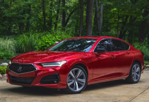 When Acura says listen to the 2021 TLX, you listen good