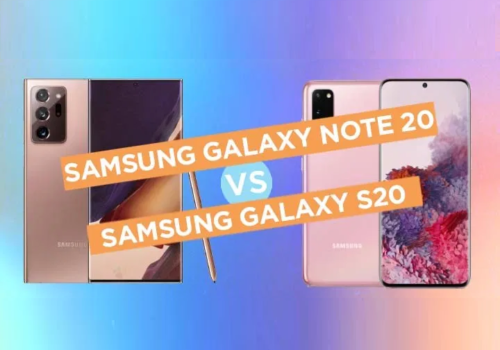 Samsung Galaxy Note 20 5G vs Galaxy S20 Specs Comparison