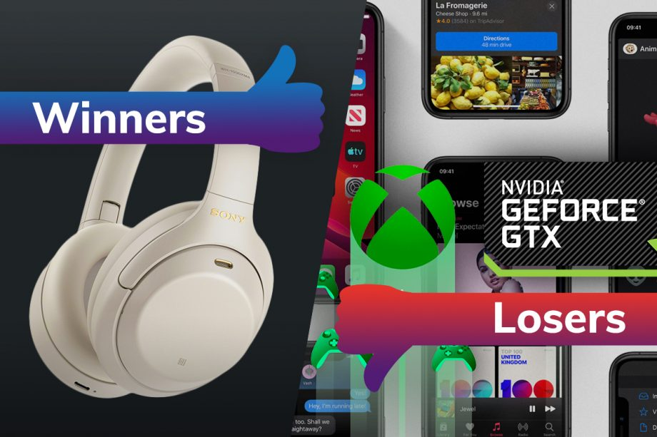 Winners and Losers: Sony's WH-1000XM4's impress while Apple shuns xCloud