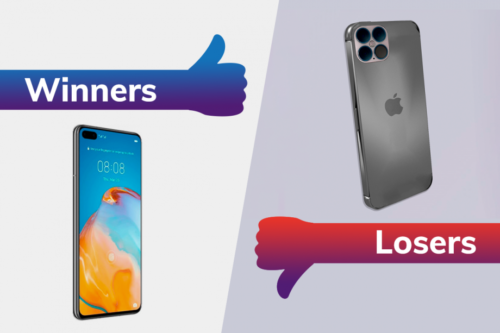 Winners and Losers: Huawei crowned smartphone king, while Apple delivers bad news