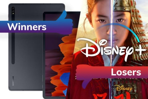 Winners and Losers: Samsung's iPad Killer and Disney Plus' questionable Mulan strategy