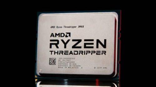 The AMD Ryzen Threadripper 3990x is still the cheapest 64-core CPU by far