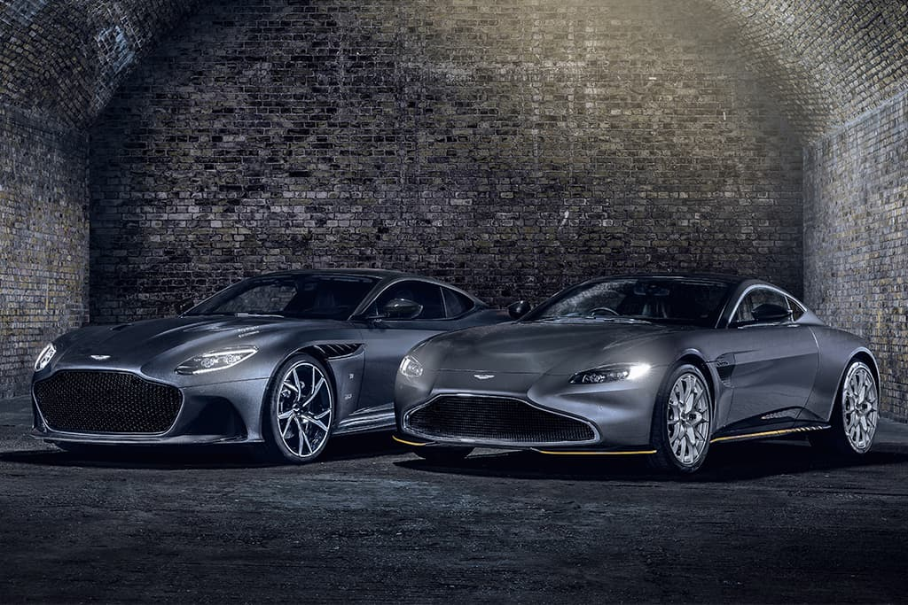 Aston Martin builds special-edition 007 cars